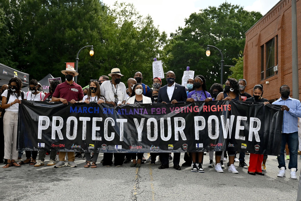 March On For Voting Rights - Atlanta, GA
