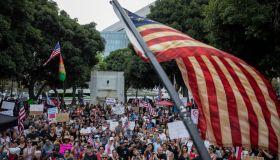 ANTI-VAXX PROTEST IN L.A.