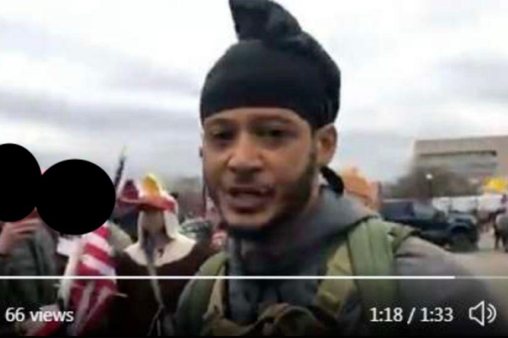 Uliyahu Hayah, accused Capitol insurrectionist