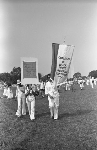 Black Trade Unionists Before ERA March