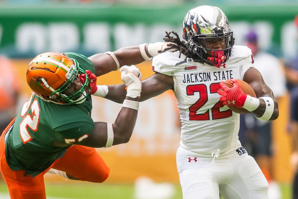 COLLEGE FOOTBALL: SEP 05 Orange Blossom Classic - Jackson State vs. Florida A&M