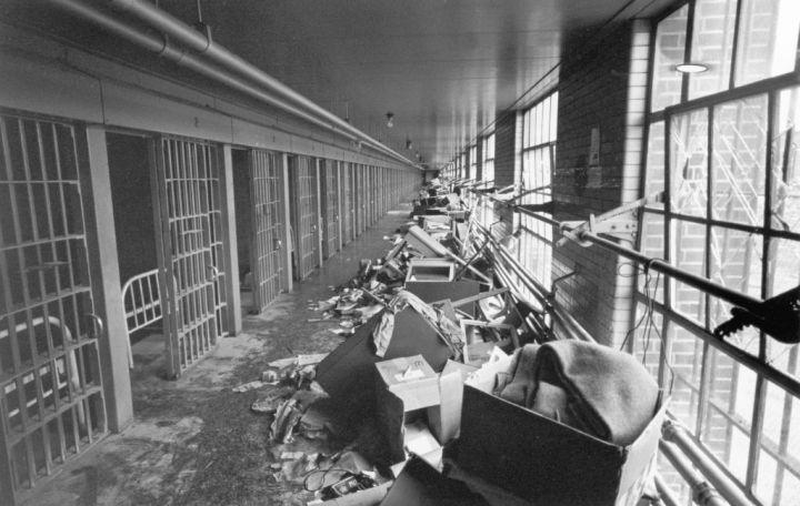 Destruction at Attica