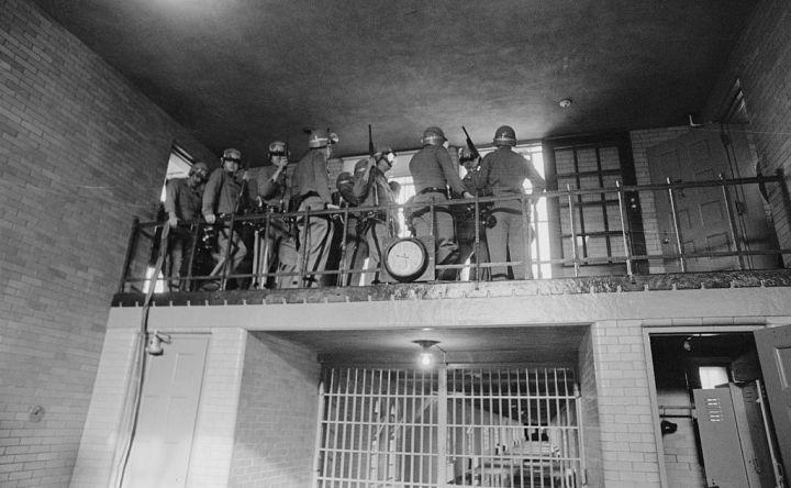 Armed Police in State Prison
