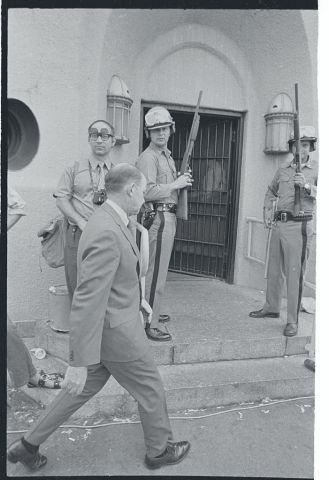 Vincent R. Mancusi at Attica Prison
