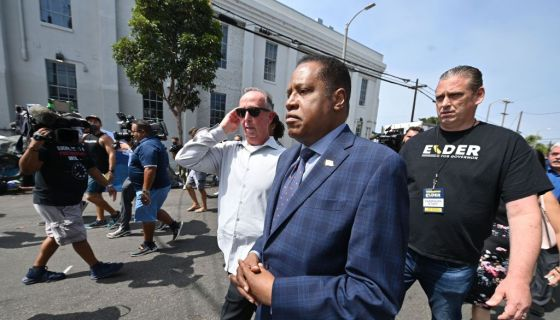Video Of Someone Throwing An Egg At Larry Elder On The Campaign Trail In California Goes Viral