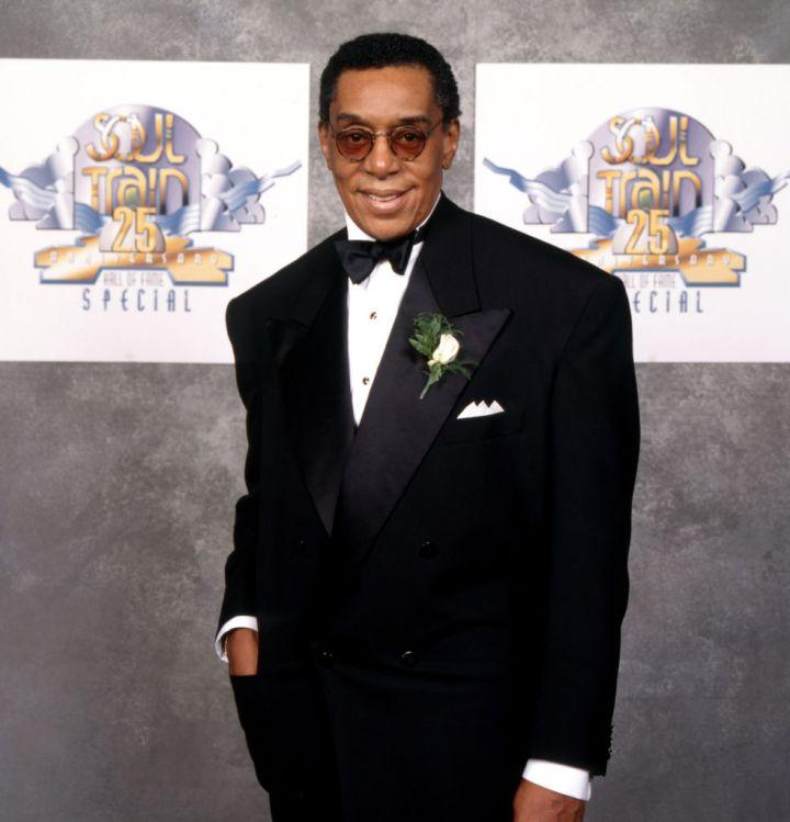 "Don Cornelius, host of ""Soul Train"""
