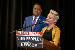 Rose McGowan, actress, multimedia artist, writer, thought leader, and sexual assault survivor, will hold a press conference tomorrow, September 12, with candidate for governor Larry Elder to discuss her allegations that Jennifer Siebel Newsom, Governor Ga