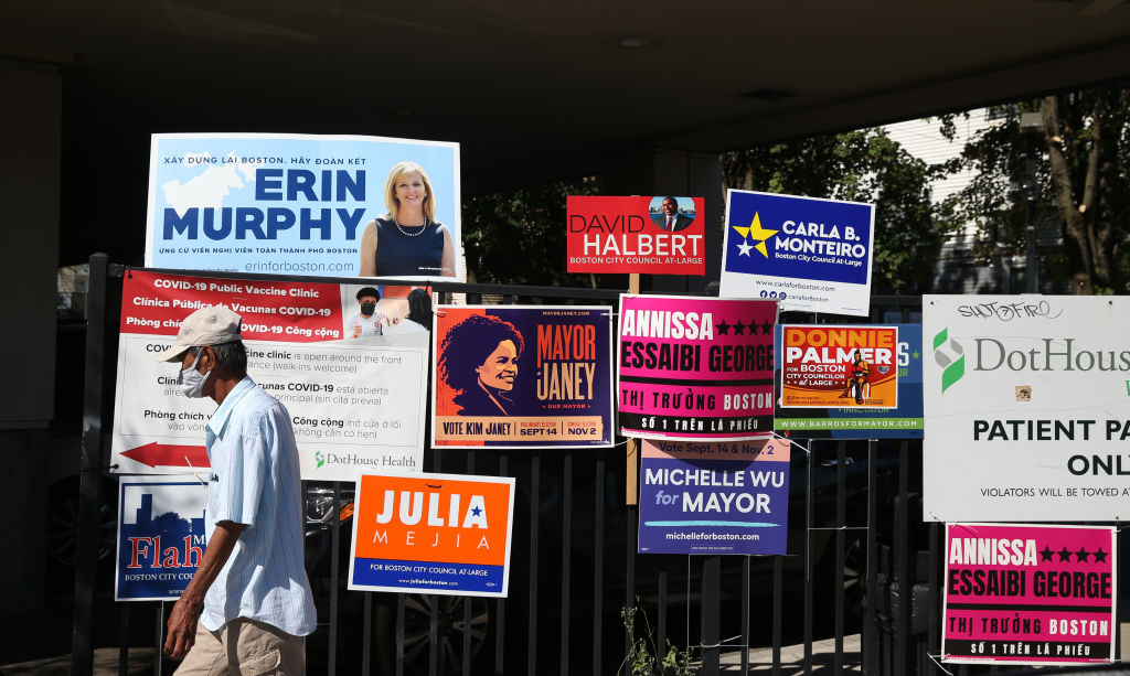 Boston Mayoral Candidates Vote In Primary Election