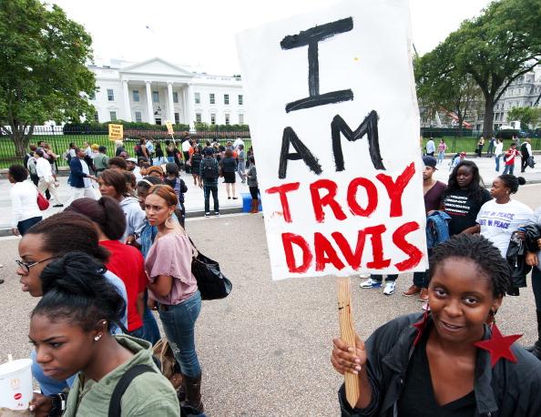 Student protestors from Howard Universit