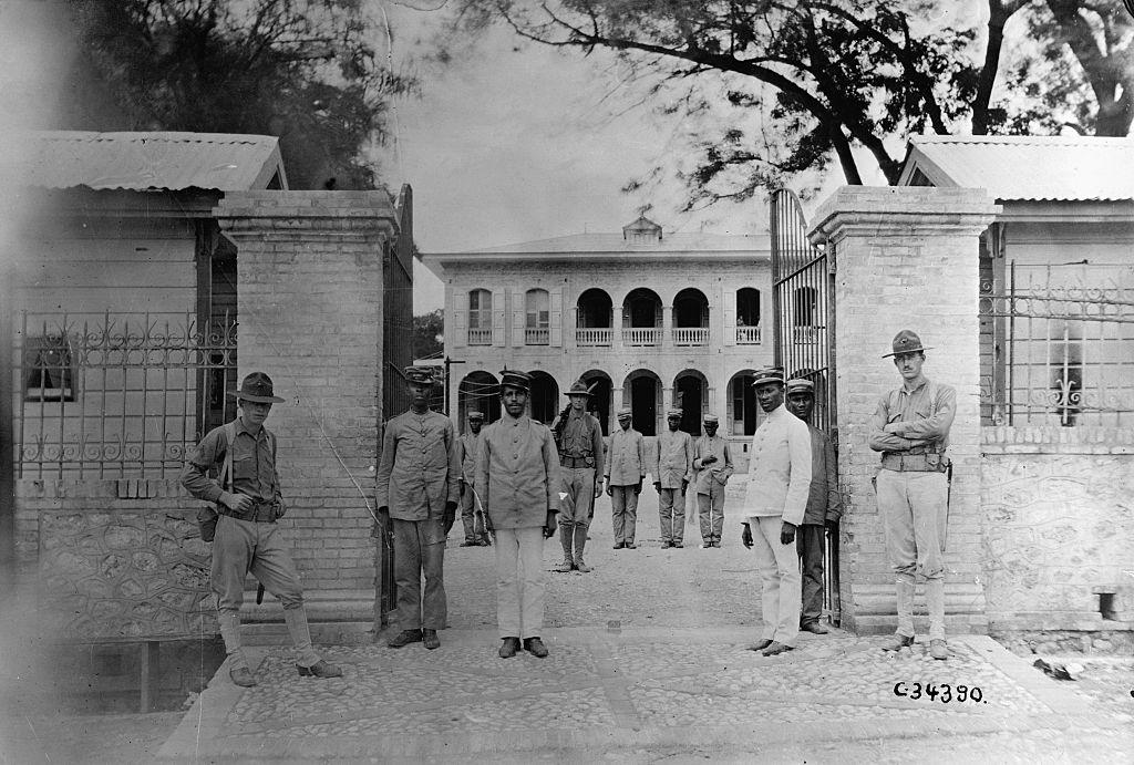 United Stated Occupation Of Haiti