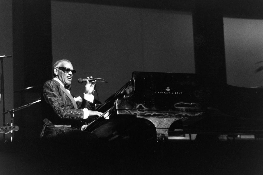 Ray Charles sur scène