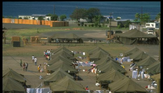 Biden Administration Seeks Contract For Guantánamo Bay Mig... Facility, Says Haitians At Texas Border Won't Be Sent There