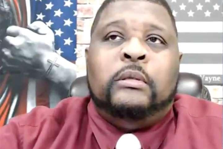 Wayne Dupree, right-wing talk show host