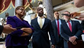 Lawmakers Hold Meeting On Police Reform Bill On Capitol Hill