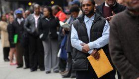 Job Seekers Attend NYC Career Fair