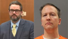 Derek Chauvin and his lawyer Eric Nelson