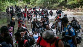Mostly Haitian Migrants Cross Treacherous Darien Gap En Route To U.S. Border