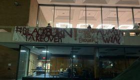 Howard University Blackburn Center student protest