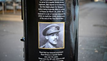 Post Boxes Painted To Honour Black Britons During Black History Month