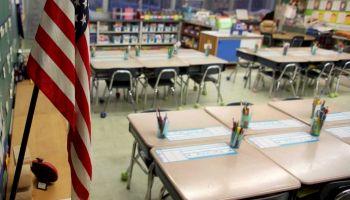 Inside of a First Grade Classroom