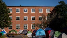 Howard University Students Protest Living Conditions At Dorms On Campus