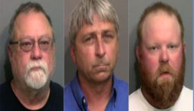 Ahmaud Arbery's accused killers from left: Gregory McMichael, William Bryan, Travis McMichael